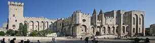 Le Palais des papes à Avignon, photo Jean-Marc ROSIER